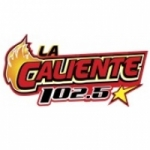 Logo da emissora Radio La Caliente 102.5 FM