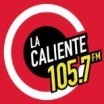 Logo da emissora Radio La Caliente 105.7 FM