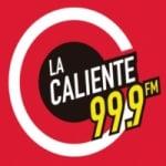 Logo da emissora Radio La Caliente 99.9 FM