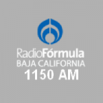 Logo da emissora Radio Fórmula Baja California 1150 AM