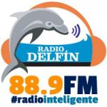 Logo da emissora Radio Delfín 88.9 FM