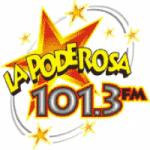Logo da emissora Radio La Poderosa 101.3 FM