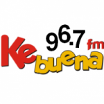 Logo da emissora Radio Ke Buena 96.7 FM