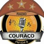 Logo da emissora Rádio Couraço 104.9 FM