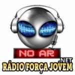 Logo da emissora Rádio Força Jovem Net