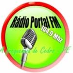 Logo da emissora Rádio Portal 104.9 FM