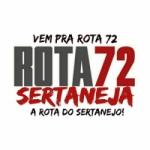 Logo da emissora Rota 72 Sertaneja