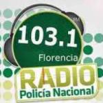 Logo da emissora Radio Policía Nacional 103.1 FM