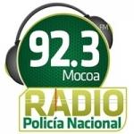 Logo da emissora Radio Policía Nacional 92.3 FM