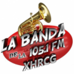 Logo da emissora Radio La Banda 105.1 FM