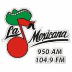 Logo da emissora Radio La Mexicana 104.9 FM