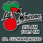 Logo da emissora Radio La Mexicana 950 AM 104.9 FM