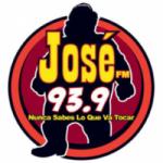 Logo da emissora Radio José 93.9 FM