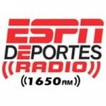 Logo da emissora Radio ESPN Deportes 1650 AM