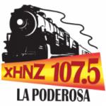Logo da emissora Radio La Poderosa 107.5 FM