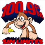 Logo da emissora Radio Sin Limites 100.9 FM