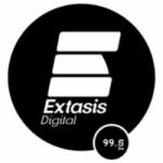 Logo da emissora Radio Éxtasis Digital 99.5 FM