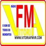Logo da emissora Rádio Vitória FM VR