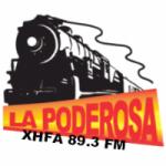Logo da emissora Radio La Poderosa 89.3 FM