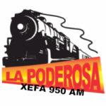 Logo da emissora Radio La Poderosa 950 AM