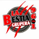 Logo da emissora Radio La Bestia Grupera 96.1 FM