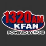 Logo da emissora KFNZ 1320 AM