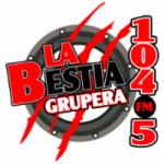 Logo da emissora Radio La Bestia Grupera 104.5 FM