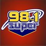 Logo da emissora Radio Súper 98.1 FM