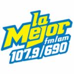Logo da emissora Radio La Mejor 107.9 FM