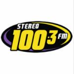 Logo da emissora Radio Stereo 100.3 FM