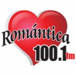 Logo da emissora Radio Romántica 100.1 FM