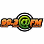Logo da emissora Radio Arroba 99.3 FM