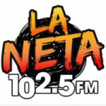 Logo da emissora Radio La Neta 102.5 FM