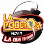 Logo da emissora Radio La Poderosa 95.7 FM