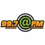 Logo da emissora Radio Arroba 99.7 FM