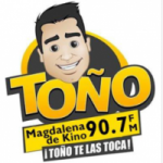 Logo da emissora Radio Toño 90.7 FM