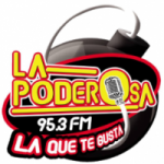Logo da emissora Radio La Poderosa 95.3 FM