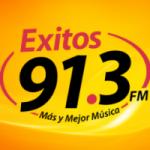 Logo da emissora Radio Exitos 91.3 FM