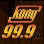 Logo da emissora KONY 99.9 FM