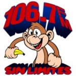 Logo da emissora Radio Sin Limites 106.7 FM