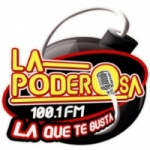 Logo da emissora Radio La Poderosa 100.1 FM
