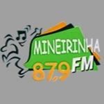 Logo da emissora Rádio Mineirinha 87.9 FM