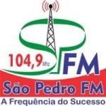 Logo da emissora Rádio São Pedro 104.9 FM