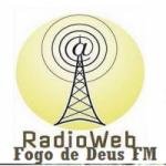 Logo da emissora Rádio Fogo de Deus FM