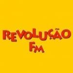 Logo da emissora Rádio Revolução FM