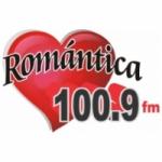 Logo da emissora Radio Romántica 100.9 FM