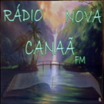 Logo da emissora Rádio Nova Canaã FM