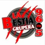 Logo da emissora Radio La Bestia Grupera 96.5 FM