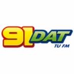Logo da emissora Radio 91 DAT 90.9 FM