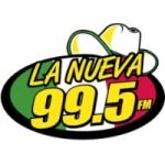 Logo da emissora Radio La Nueva 99.5 FM